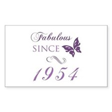 Fabulous Since 1954 Decal