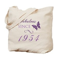 Fabulous Since 1954 Tote Bag