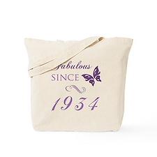Fabulous Since 1934 Tote Bag