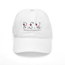 BSW Hearts (Design 2) Baseball Cap