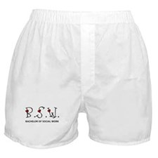 BSW Hearts (Design 2) Boxer Shorts