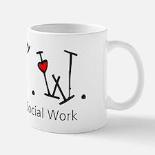 BSW Hearts (Design 2) Small Mugs