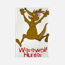 Cartoon Werewolf Rectangle Magnet