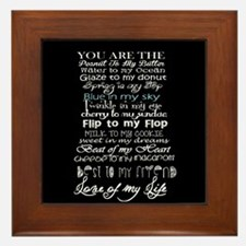 Cute F. scott fitzgerald quotes Framed Tile