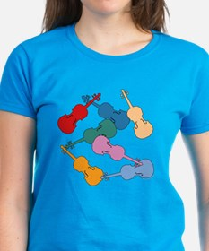 Colorful Violins - Tee