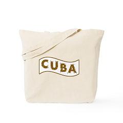 Cuba Banner Tote Bag