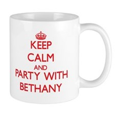 Keep Calm and Party with Bethany Mugs