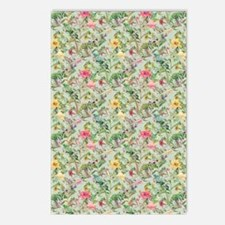 Colorful Floral Pattern Postcards (Package of 8)