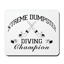 Dumpster Diver Mousepad