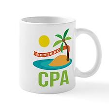 Retired CPA Mug
