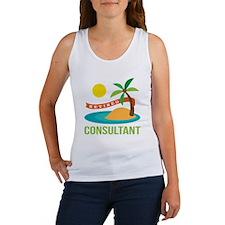 Retired Consultant Women's Tank Top