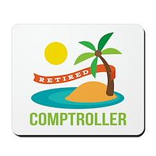 Retired Comptroller Mousepad