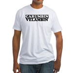 CARUMBIN VELAMBIN Fitted T-Shirt