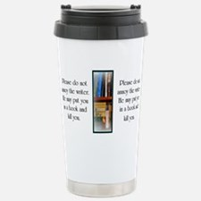 Funny Author Stainless Steel Travel Mug