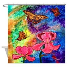 Swallowtail Attraction 69X70 Inch Shower Curtain