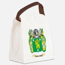 Malone Coat of Arms - Family Cres Canvas Lunch Bag