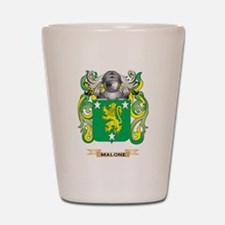 Malone Coat of Arms - Family Crest Shot Glass