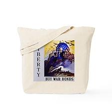 Liberty Buy War Bonds Tote Bag