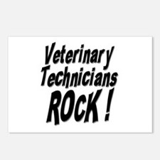 Veterinary Techs Rock ! Postcards (Package of 8)