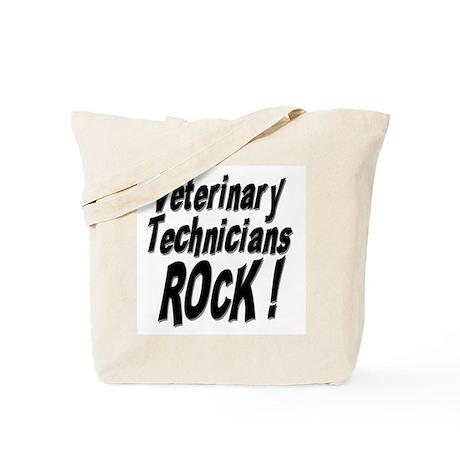 Veterinary Techs Rock ! Tote Bag
