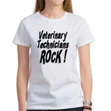 Veterinary Techs Rock ! Tee