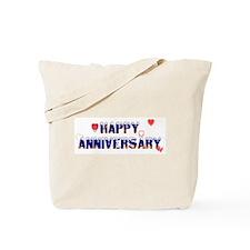 Happy Anniversary-melt Tote Bag
