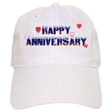 Happy Anniversary-melt Baseball Cap