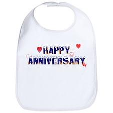 Happy Anniversary-melt Bib