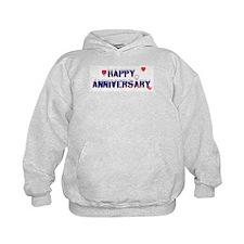 Happy Anniversary-melt Hoodie