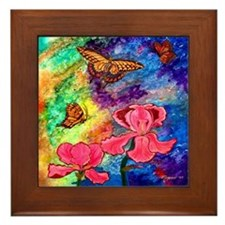 Swallowtail Attraction 6 Inch Framed Tile