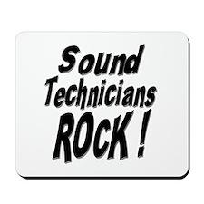 Sound Techs Rock ! Mousepad