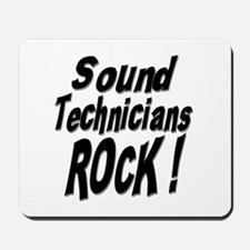 Sound Techs Rock ! Mousepad