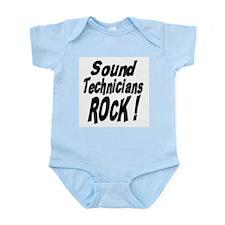 Sound Techs Rock ! Infant Bodysuit
