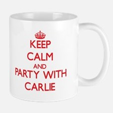 Keep Calm and Party with Carlie Mugs