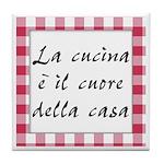 Cucina Cuore Casa Tile Coaster