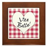 Vita Bella Framed Tile