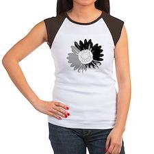 Sunflower Women's Cap Sleeve T-Shirt