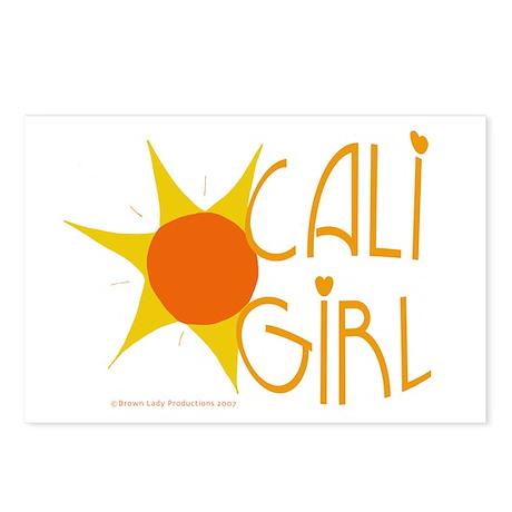 Cali Girl Postcards (Pkg of 8)