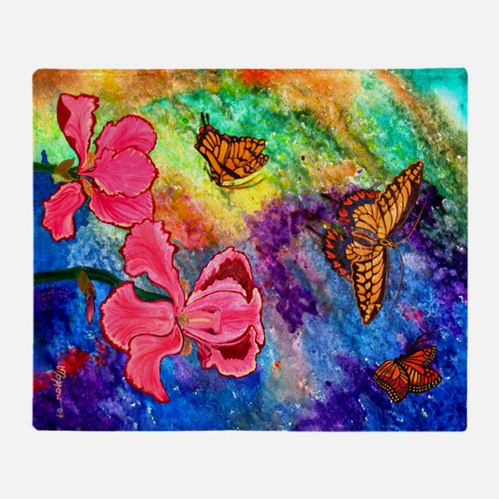 Swallowtail Attraction 60X50 Inch Throw Blanket