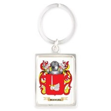 Manuel Coat of Arms - Family Cre Portrait Keychain