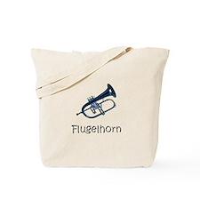 Flugelhorn.. Brass.. Tote Bag