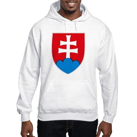 Slovakia Coat of Arms Hooded Sweatshirt