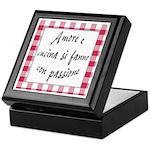 Amore Cucina Passione Keepsake Box