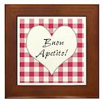 Buon Apetito Framed Tile
