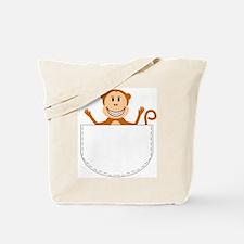 Funny Pocket Tote Bag