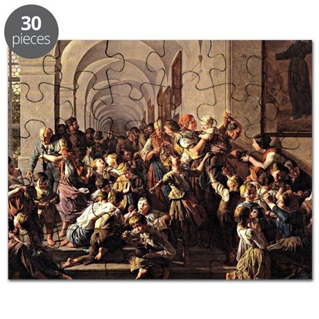 Waldmuller: The Cloister Soup, 1858 Puzzle