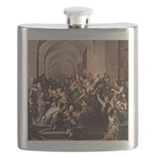 Waldmuller: The Cloister Soup, 1858 Flask
