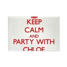 Keep Calm and Party with Chloe Magnets