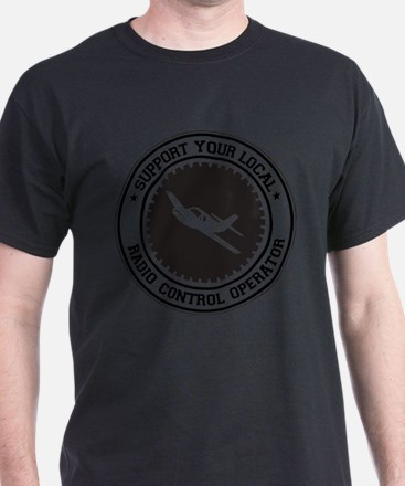 Support Radio Control Operator T-Shirt