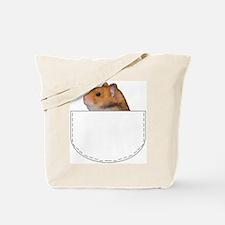 Hamster pocket pal Tote Bag